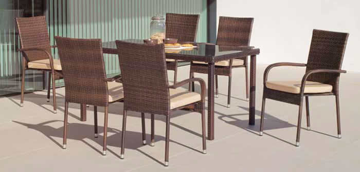 Bergamo 150cm Dining Set Offer